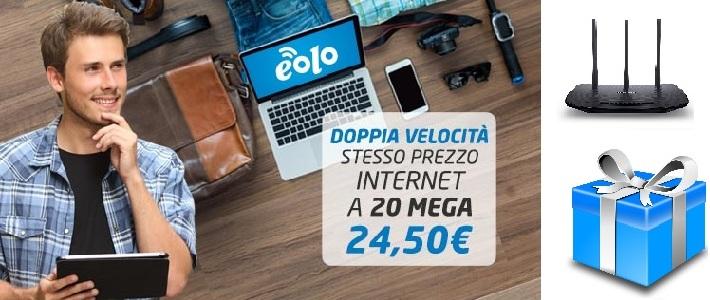 promo campagna eolo router