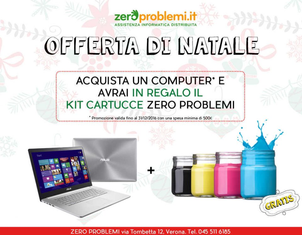 Promozioni Natale Verona Cartucce